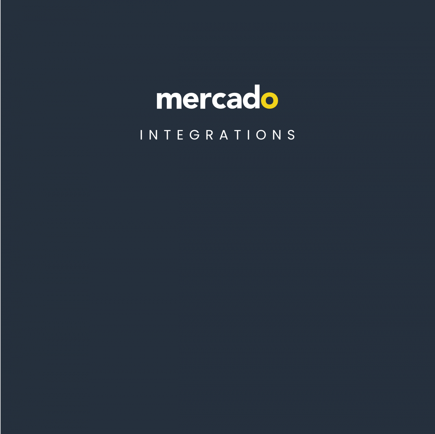 Mercado | News - Partnership with Chain.io