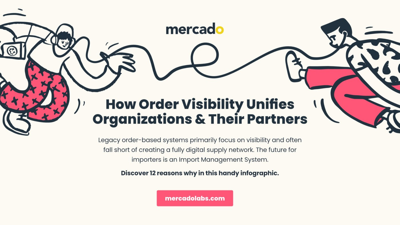 Mercado | Infographic download - How Order Visibility Unifies Organizations & Their Partners