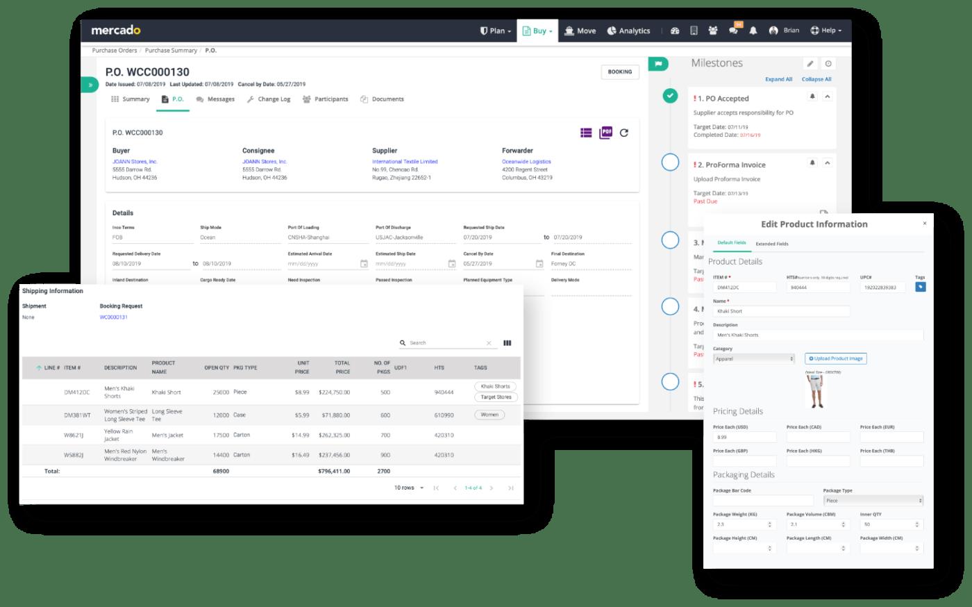 Mercado Labs | Product Suite - Buy